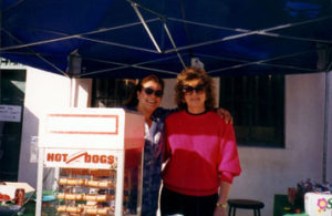 Grill Chefs: Judy Hill and Joanne Orazetii … ANYBODY WANT HOT DOG … THEY'RE FREE!