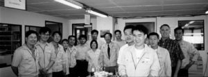Our Korean Connection Hanjoong Baek, Samhongsa Co., Ltd. & Staff
